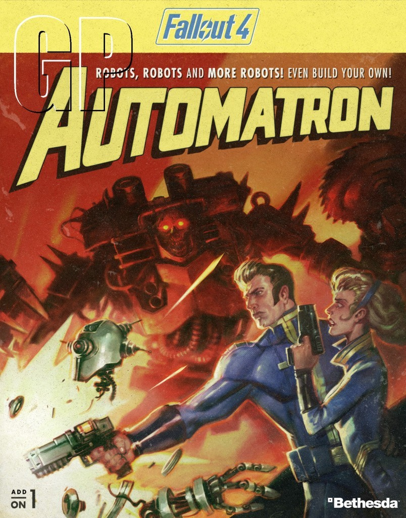 Fallout 4 DLC gets a new trailer. - Automatron