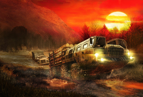 The Ultimate Off-Road Experience arrives on consoles and PC on October 31 - Spintires Mudrunner