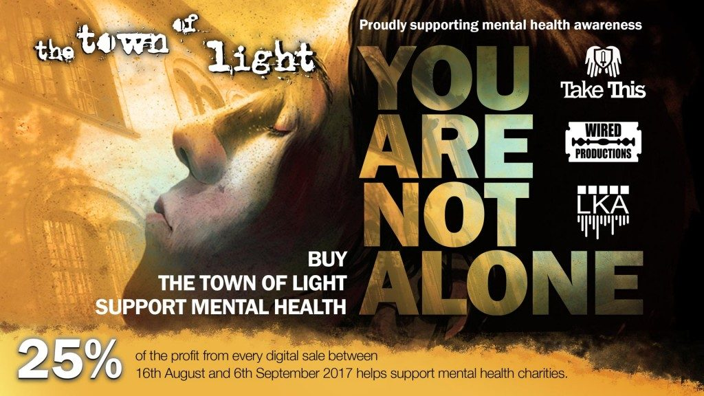 Wired Productions & LKA announce donation of $10,000 to Take This, Inc. in aid of Mental Health Awareness - You are not alone