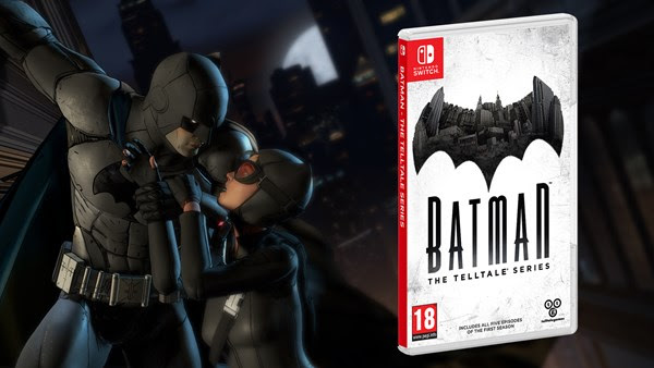 'Batman - The Telltale Series' Now Available on Nintendo Switch Both Digitally and at Retail - Batman Tell Tale Switch