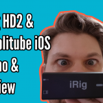 iRig HD 2 & Amplitube iOS Demo / Review