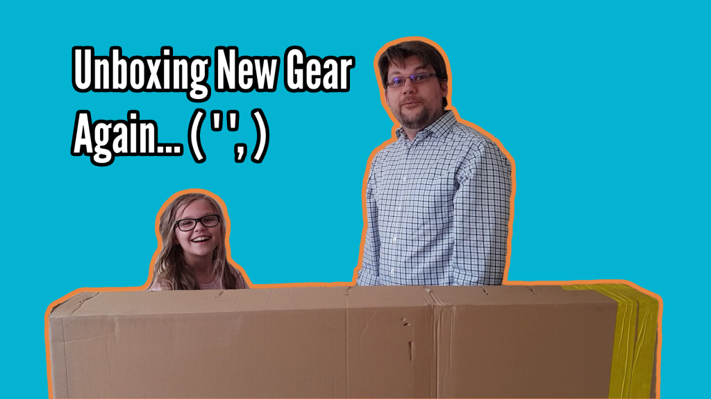 What's in the box? New Gear Unboxing! - Open the Bass Title
