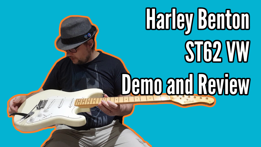 Harley Benton ST62 Vintage White Review - title