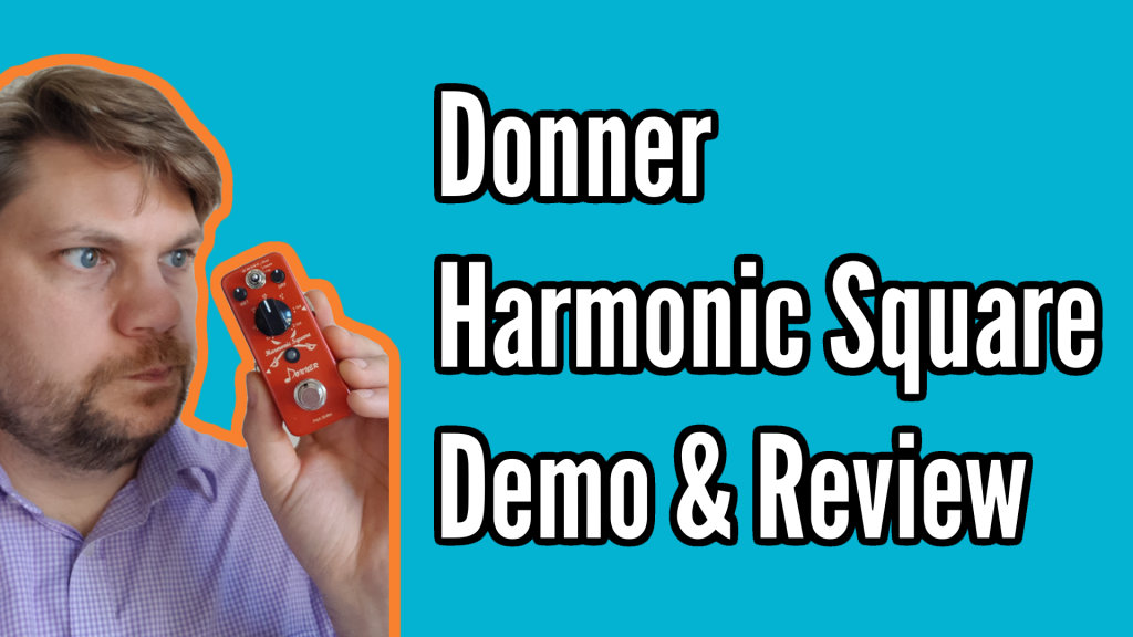 Donner Harmonic Square Demo and Review - pitch title