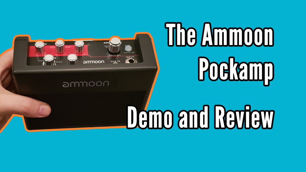 Ammoon PockAmp Demo and Review - pockamp title