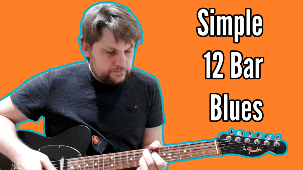 Simple 12 Bar Blues Tutorial (and backing track) - 12 Bar Blues Tutorial Title small