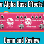 Donner Alpha Bass Demo And Review