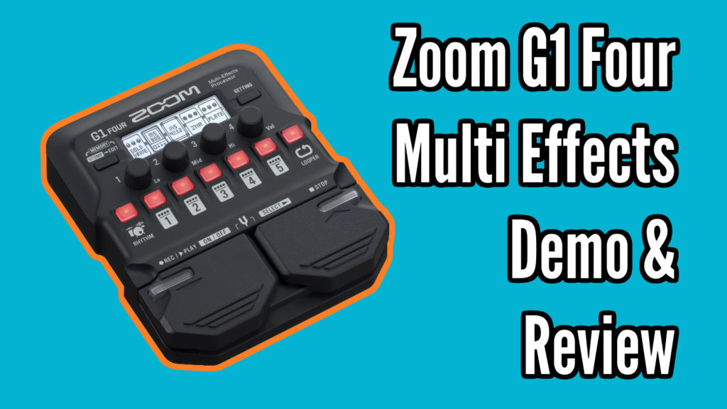 Zoom G1 Four Demo and Review - Zoom G1 Title
