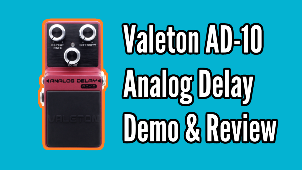 Valeton AD-10  Analog Delay Demo & Review - AD10 Title