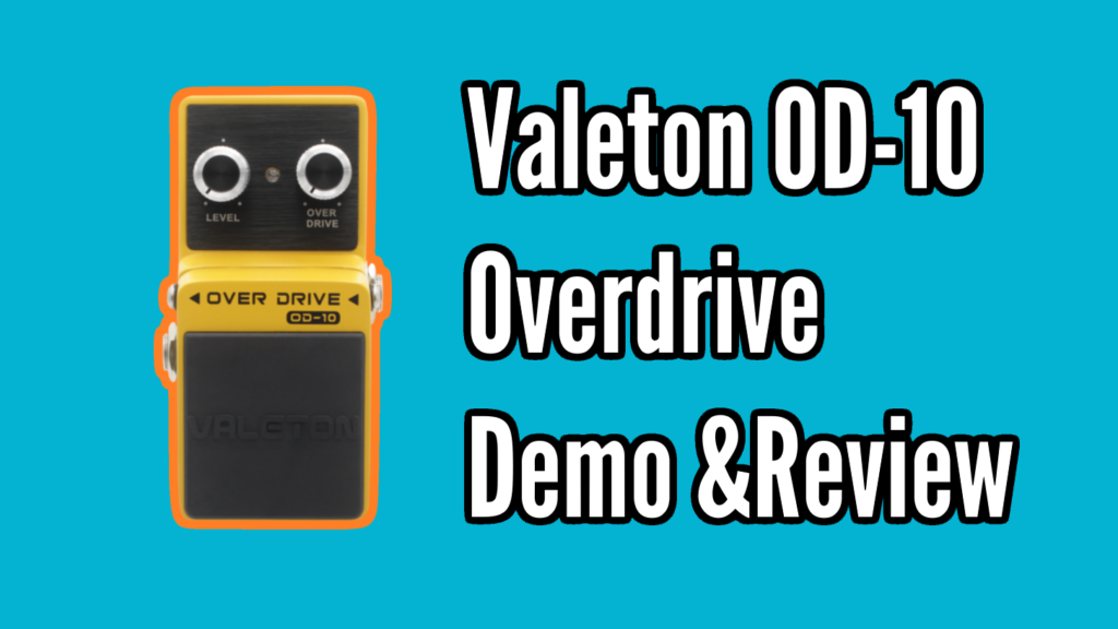 Valeton OD-10 Overdrive Demo and Review - OD10 Title