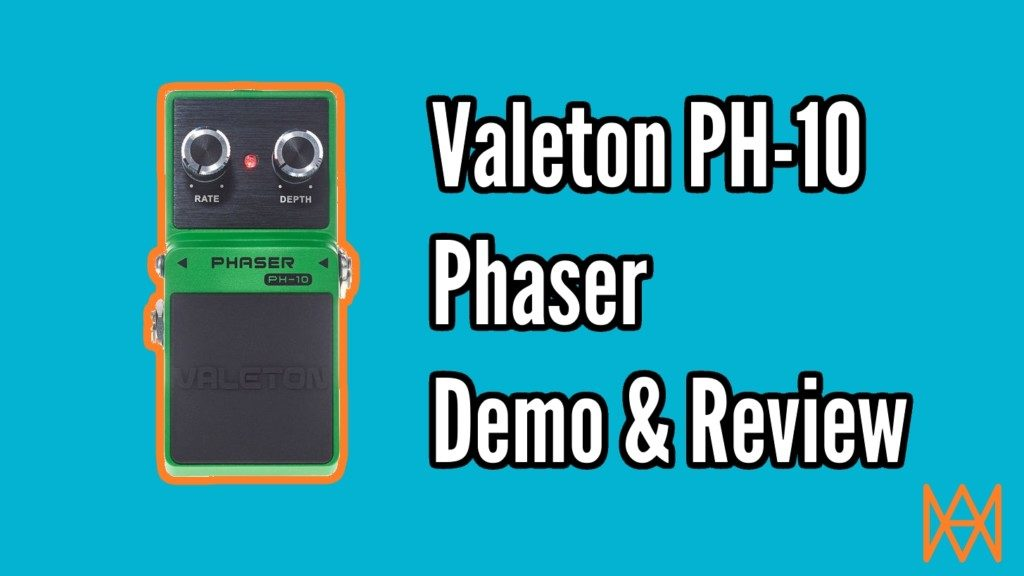 Valeton PH-10 Phaser Review and Demo - Phaser Title