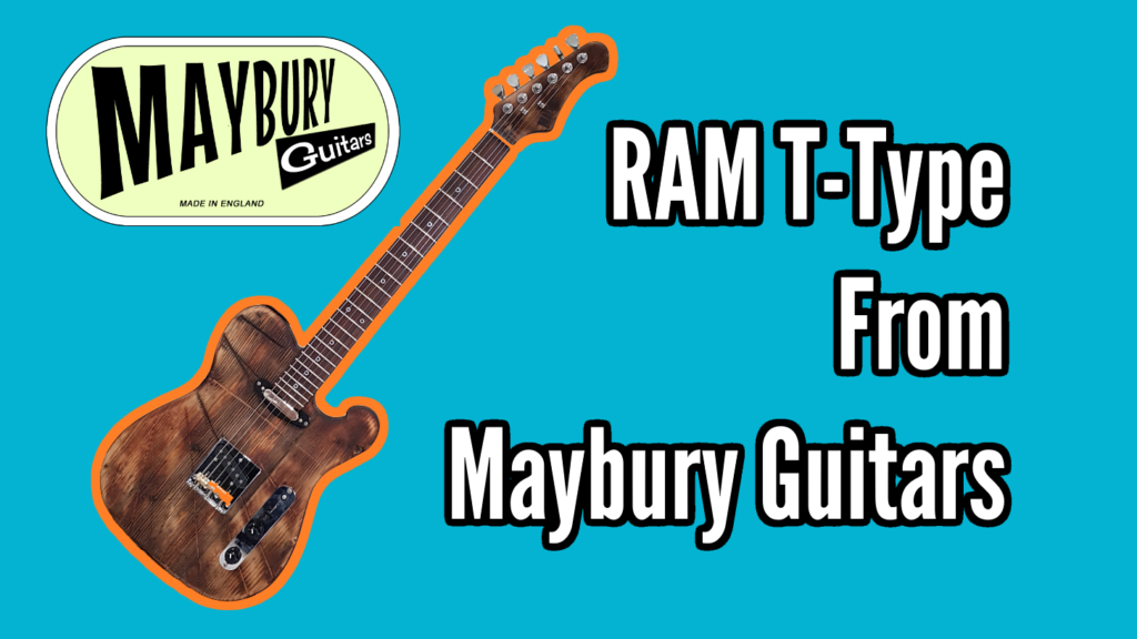 Custom Built RAM T-Type upcycled guitar from Maybury Guitars - Maybury Title 1