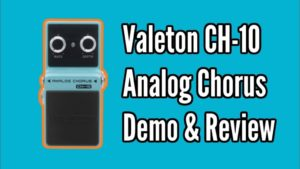Valeton Ch-10 Chorus Pedal Demo & Review