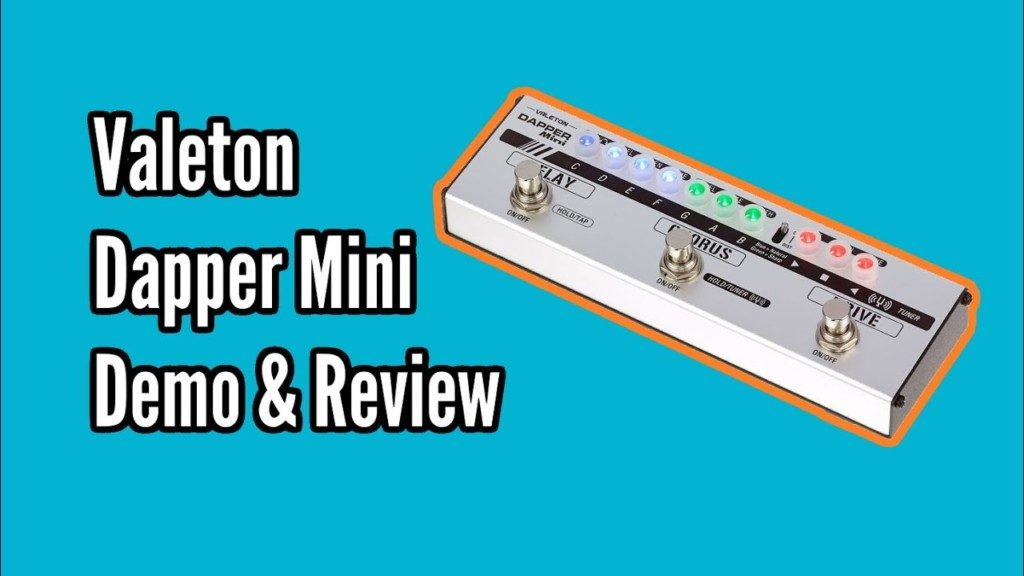 Valeton Dapper Mini Demo and Review - Valeton Mini Dapper