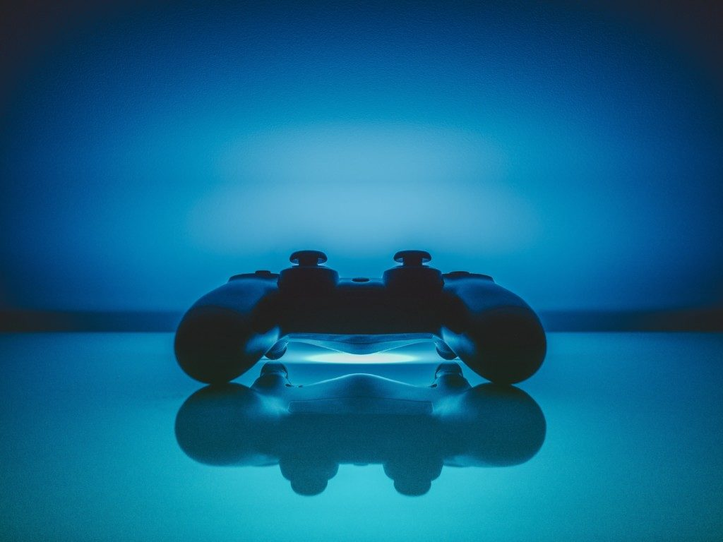 Getting More Out Of Video Games - blue controller dualshock 18174
