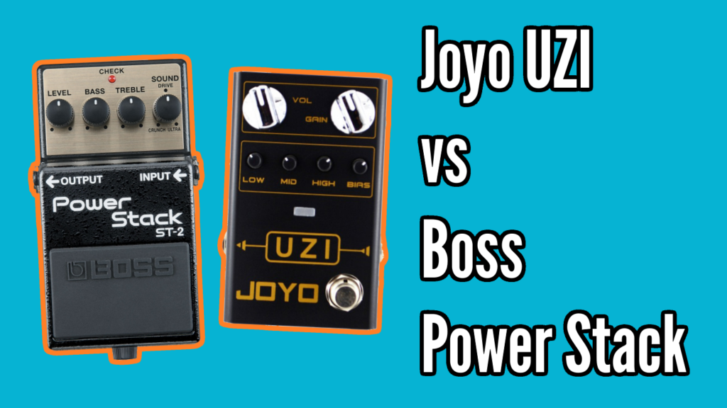 Boss Power Stack vs Joyo Uzi - UziStack