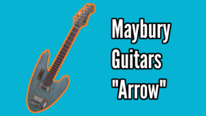 Maybury Guitars Arrow Demo
