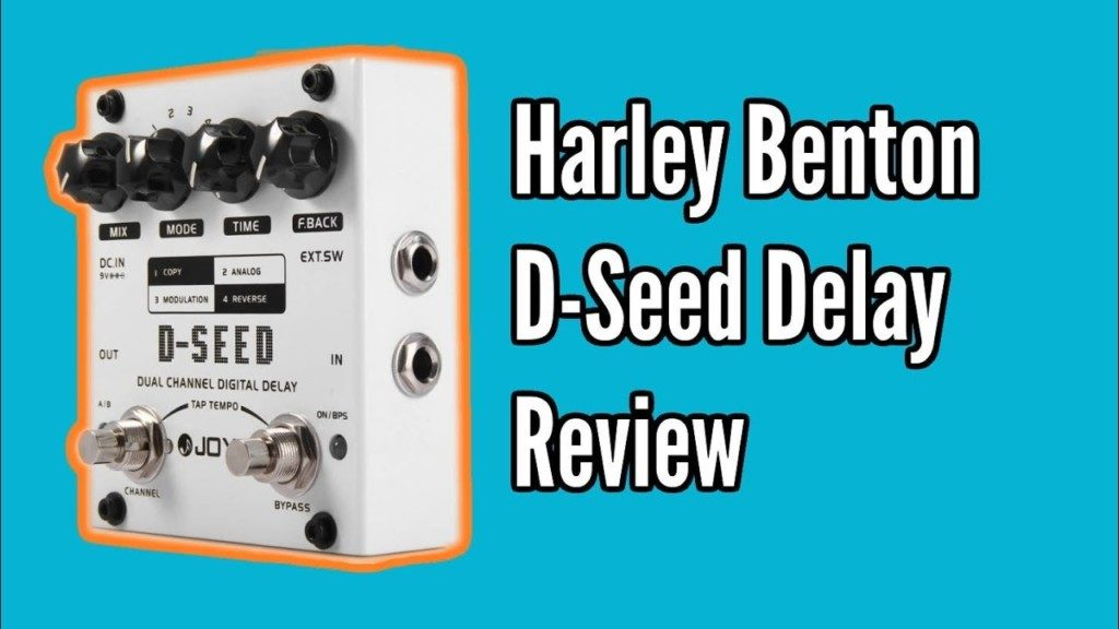 Harley Benton D-Seed Delay Demo and Review - dseed