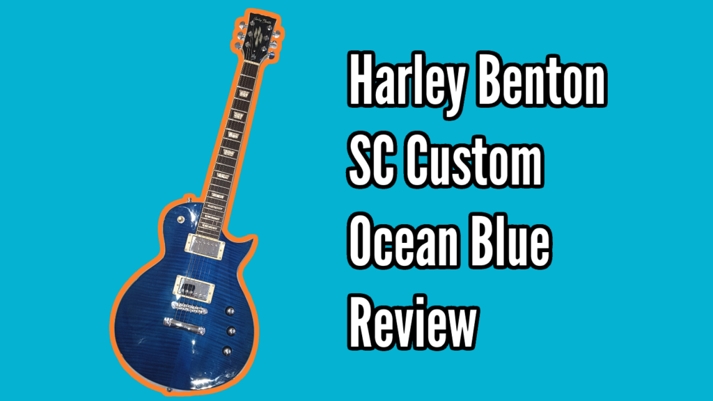 Harley Benton SC Custom (Ocean Flame) Demo and Review - 20191022 130309 trans