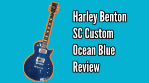 Harley Benton SC Custom (Ocean Flame) Demo and Review