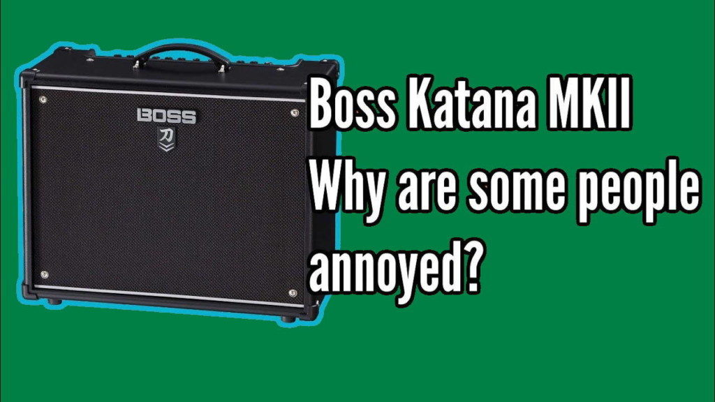 Boss Katana MkII, Why Are Some People So Upset? - annoyed