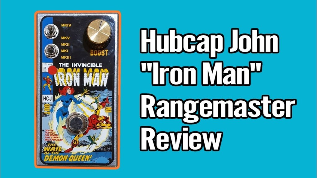 Iron Man Rangemaster from Hubcap John - rm3