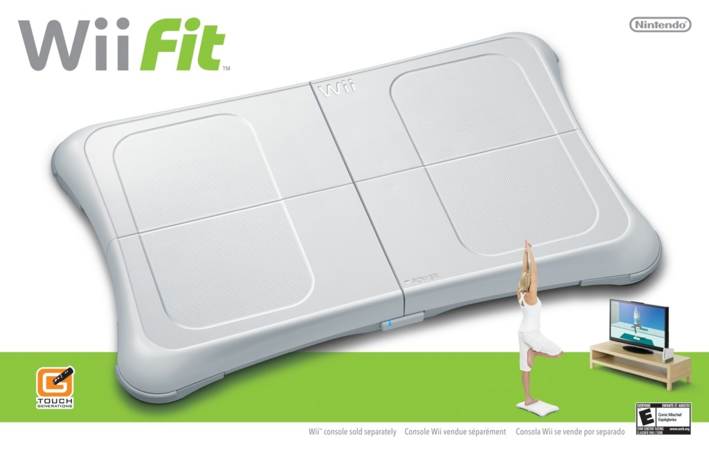 The Rise and Future of Fitness Games - wii fit
